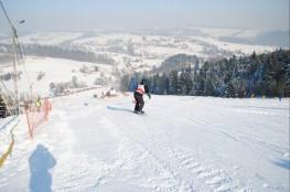 Ciężkowice Atrakcja Wypożyczalnia snowboardowa Jastrzębia Ski