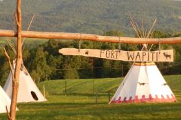 """Zalasowa Atrakcja Park tematyczny Wioska Indiańska """"Fort Wapiti"""""""